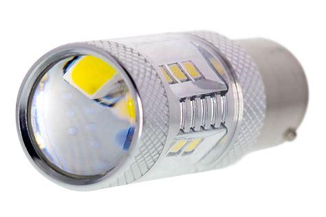 1156 Led Bulb W Focusing Lens 15 Smd Led Tower Ba15s 1156 Led Light Bulb