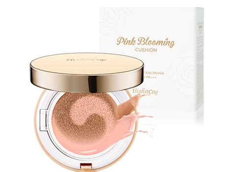 Special Produk Rorec Keep Color Bb Cushion Concealer Happybeauty Pink Blooming Cc Cushion Foundation