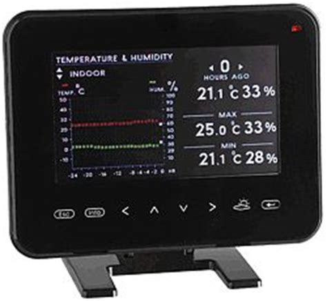 cornice digitale batteria stazione meteorologica con cornice digitale image