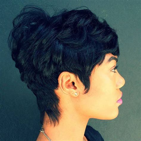 black hair dos ling in the back short in the top 60 great short hairstyles for black women women shorts