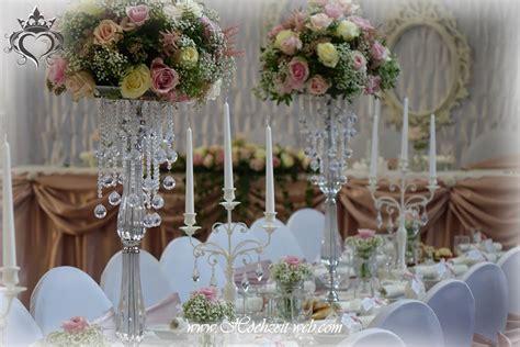 Hochzeitsdeko Saaldekoration by Besondere Hochzeitsdeko Mit Kristallst 228 Nder F 252 R 246 Se