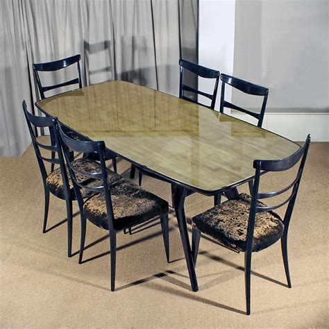 Italian Dining Table Sets Italian Dining Room Set At 1stdibs