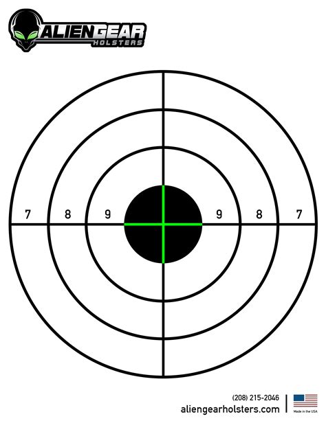 printable free rifle targets free printable shooting targets