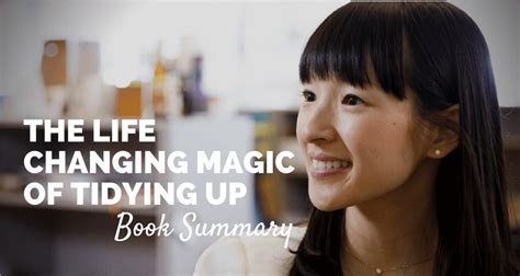 marie kondo summary the life changing magic of tidying up book summary pdf