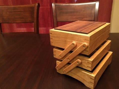 handmade fold  jewelry box  inhim studio custommadecom