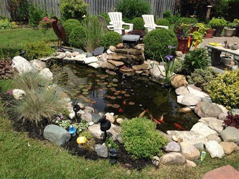 small koi pond awesome koi fish pond for a small yard