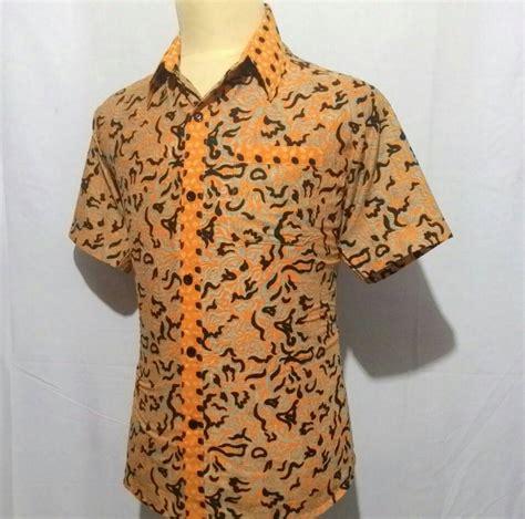 Kemeja Cowo Combi Batik jual kemeja baju hem batik pria cowok laki slimfit junkies motif combi h10 javabatika