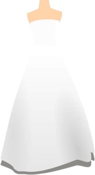 wedding dress clipart wedding dress clip at clker vector clip