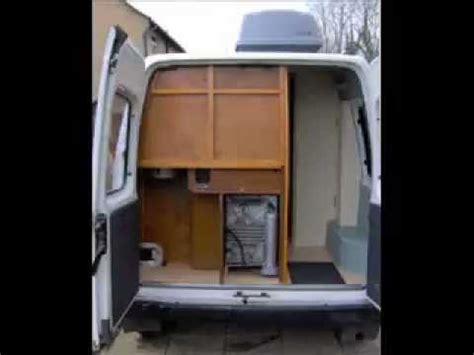 Motorhome Floor Plans by Diy Self Build Camper Van Conversion Project Youtube