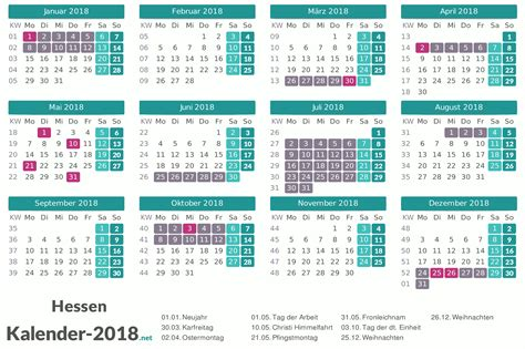 Kalender 2018 Schulferien Deutschland Kalender 2018 Mit Feiertagen Und Schulferien
