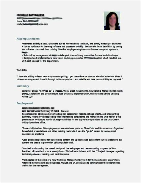 Resume Style Templates by Resume Styles Resume Cv Template Exles Different