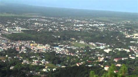 mt st benedict trinidad view from above mt st benedict trinidad youtube