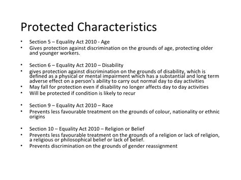 section 6 of the equality act 2010 theequalityactandyourbusinessare 12959450121141 phpapp02
