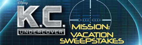 Www Disney Channel Com Sweepstakes - win the disney channel k c undercover mission sweepstakes winzily