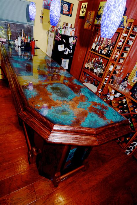 Epoxy Bar Top by Bar Top Epoxy Resin Photos Page 2