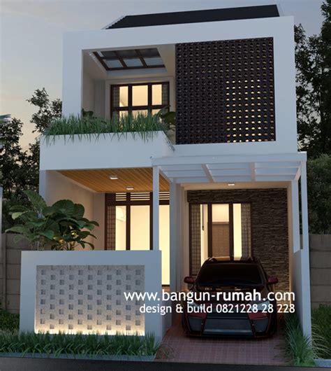 desain rumah mungil kemayoran jakarta pusat ukuran lahan desain rumah