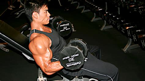 incline bench dumbbell curl the return of direct arm training t nation