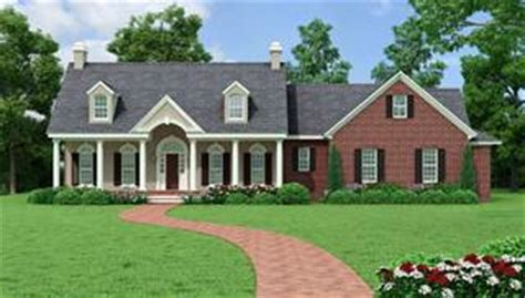 one story colonial house plans split bedroom house plans home designs house designers
