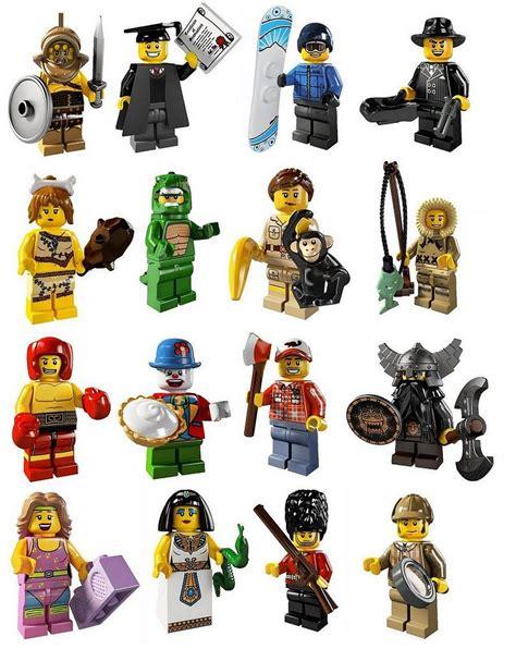 5 Piihan Minifigure Seri 1 lego gossip 080511 lego 8805 lego minifigures series 5 picture