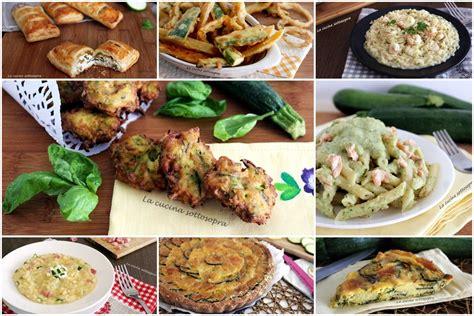 cucinare con le zucchine ricette con le zucchine raccolta di ricette la cucina