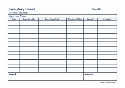 it inventory template business inventory template free printable templates