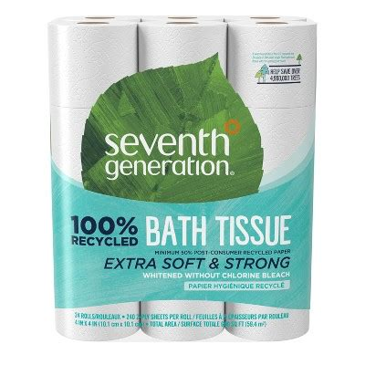 seventh generation  recycled toilet paper  rolls brickseek