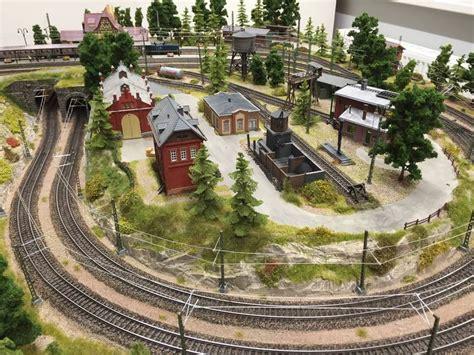 pinterest train layout m 228 rklin layouts h0 marklin trains pinterest model