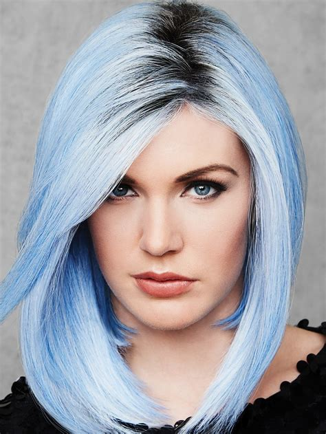 colored wigs out of the blue by hairdo colored wig wigs the