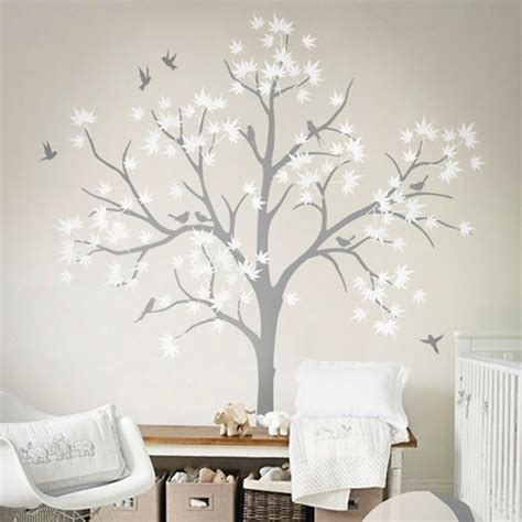 Aliexpress Com Buy Huge White Tree Wall Decoration Tree White Tree Wall Decal For Nursery
