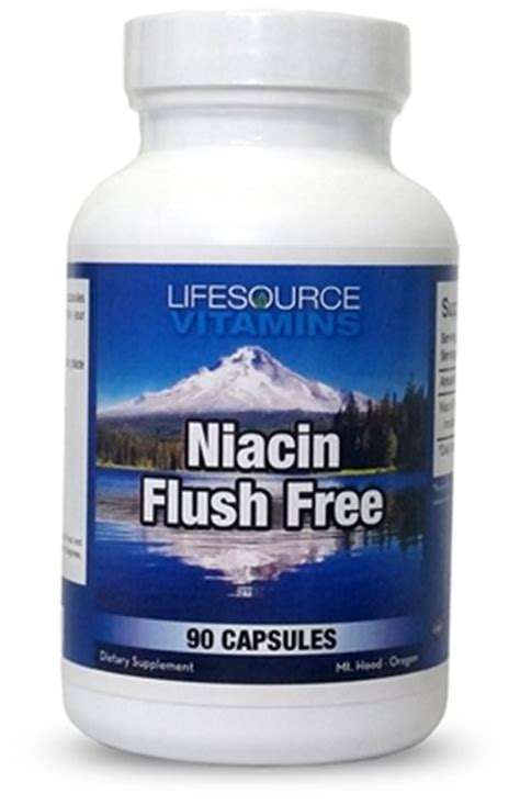 How Does A Niacin Flush Detox The by Lifesource Vitamins Niacin Flush Free B Vitamin Used