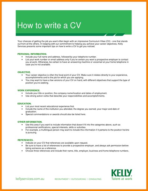 how to create a cv template 8 how to make cv for pdf daily chore checklist