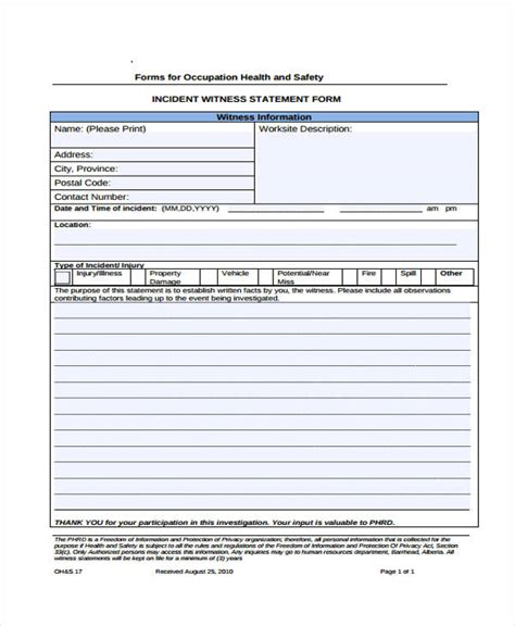 10 health statement form sles free sles exles