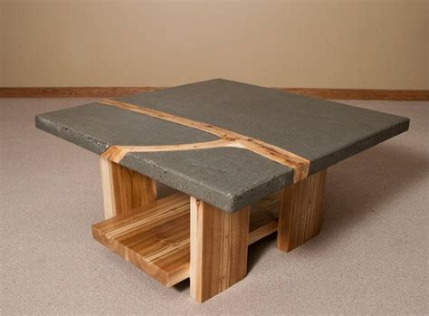 concrete top coffee table best 20 concrete coffee table ideas on