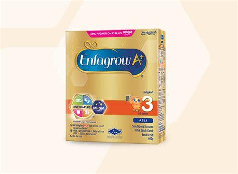Free 100 Gr Enfagrow A 3 Vanilla by Enfagrow A Step 3 1 3 Years With Mfgm Complex Plus 40