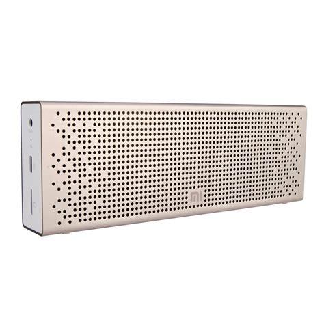 Speaker Xiaomi Mi Bluetooth Gold xiaomi mi bluetooth speaker review great company outside