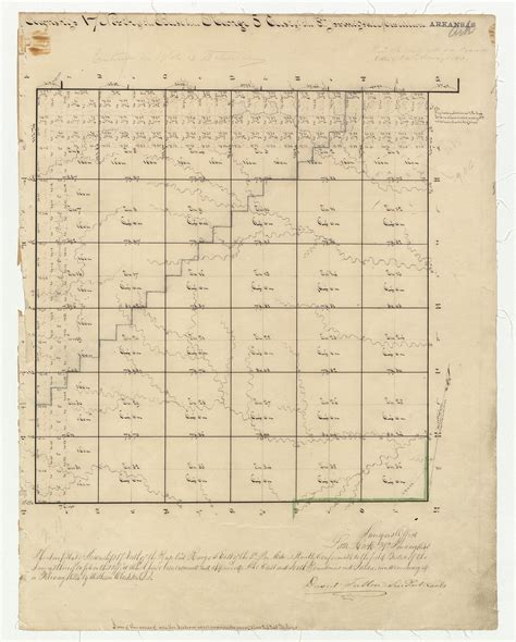 Earth Section Township Range by Emmett Smith Land Surveying Land Surveying Services In Arkansas 870 236 4457