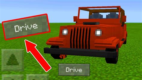 minecraft car that how to drive cars on minecraft pocket edition mcpe