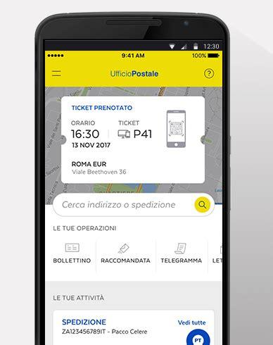 poste uffici postali app pt l app di poste per guadagnare tempo nel tuo