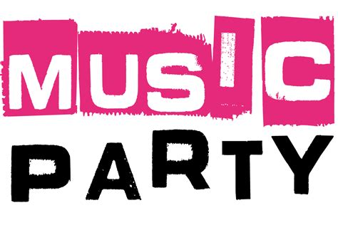 party music music party logo bounce thailand