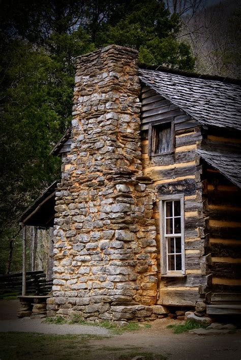 Cabins At Chimney Mountain by Log Cabin With Amazing Fireplace House Wishlist