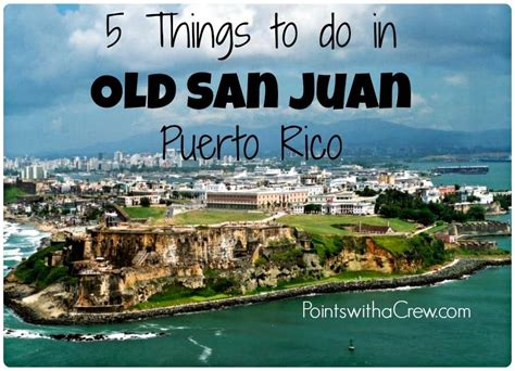Car Rental San Juan Cruise Port by San Juan A Review Points With A Crew