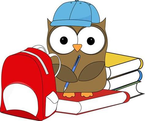 school clipart school owl clip