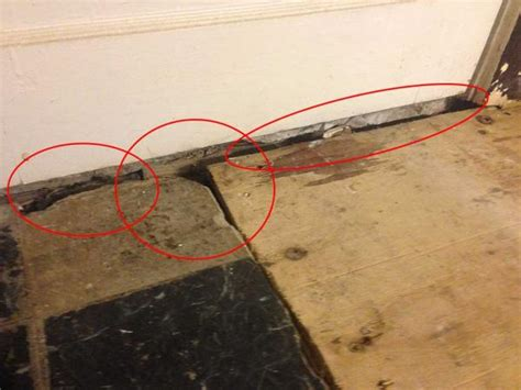 Filling deep gaps in sub floor between plywood and