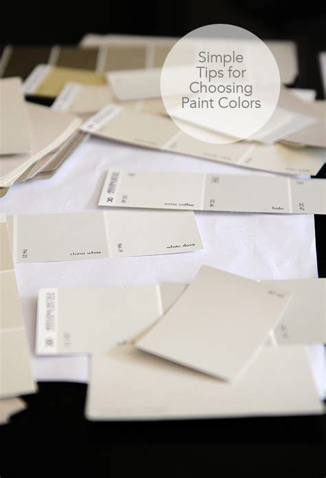 choosing paint colors simple tips for choosing paint colors she wears many hats
