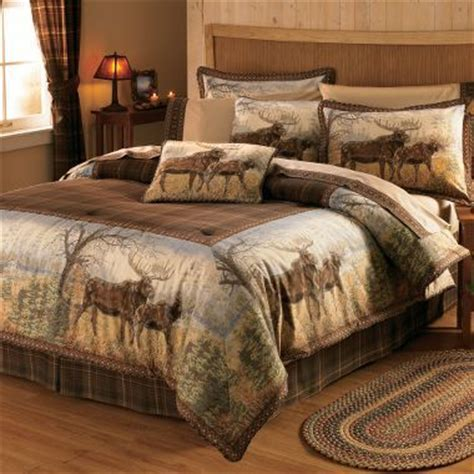 moose comforter set cabela s grand river lodge hautman bedding comforter set