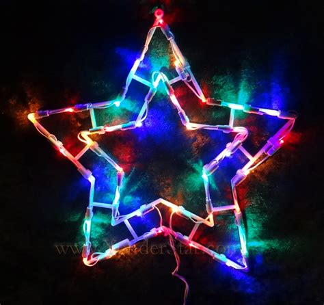 multi colored led lights 15 quot outdoor lighted multi colored led lights