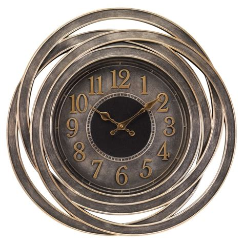 cool house clocks outdoor wall clocks home depot