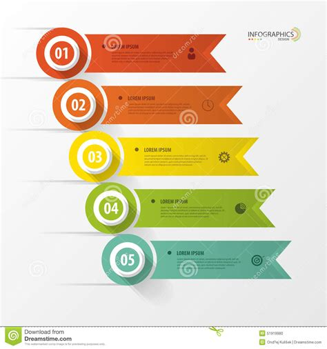 layout banner vector free infographic design template with icons banner vector