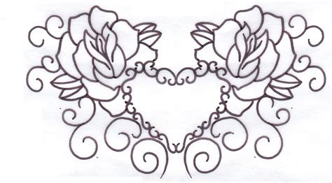 rose tattoo patterns free 5 best images of vine stencils free printable free