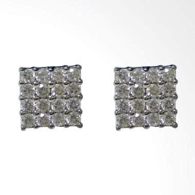 Kotak Logam Mulia Kotak Emas Lm Kotak Perhiasan jual bondo kotak emas putih asli anting kadar emas 75 1 3 gram harga kualitas